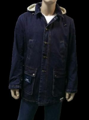 Куртка джинсовая мужская утепленная с капюшоном Montana, 12031